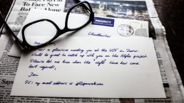 a handwritten thank you note will always be priceless