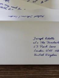 handgeschriebene kuverts rücklaufquote