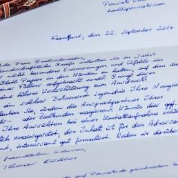 Handwritten Notes drive customer retention