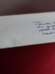 hand addressed envelope by pensaki