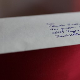 hand addressed envelope by pensaki