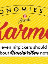 Handschrift Roboter Business