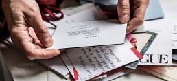 La rinascita del biglietto scritto a mano Dustin Aksland for The New York Times