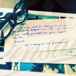 Handwritten Direct Mail with Pensaki handwritten notes