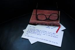 Briefe handschrift Roboter Pensaki Muster