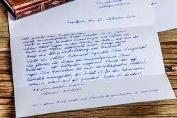handschriftliche Postkarten Roboter Pensaki
